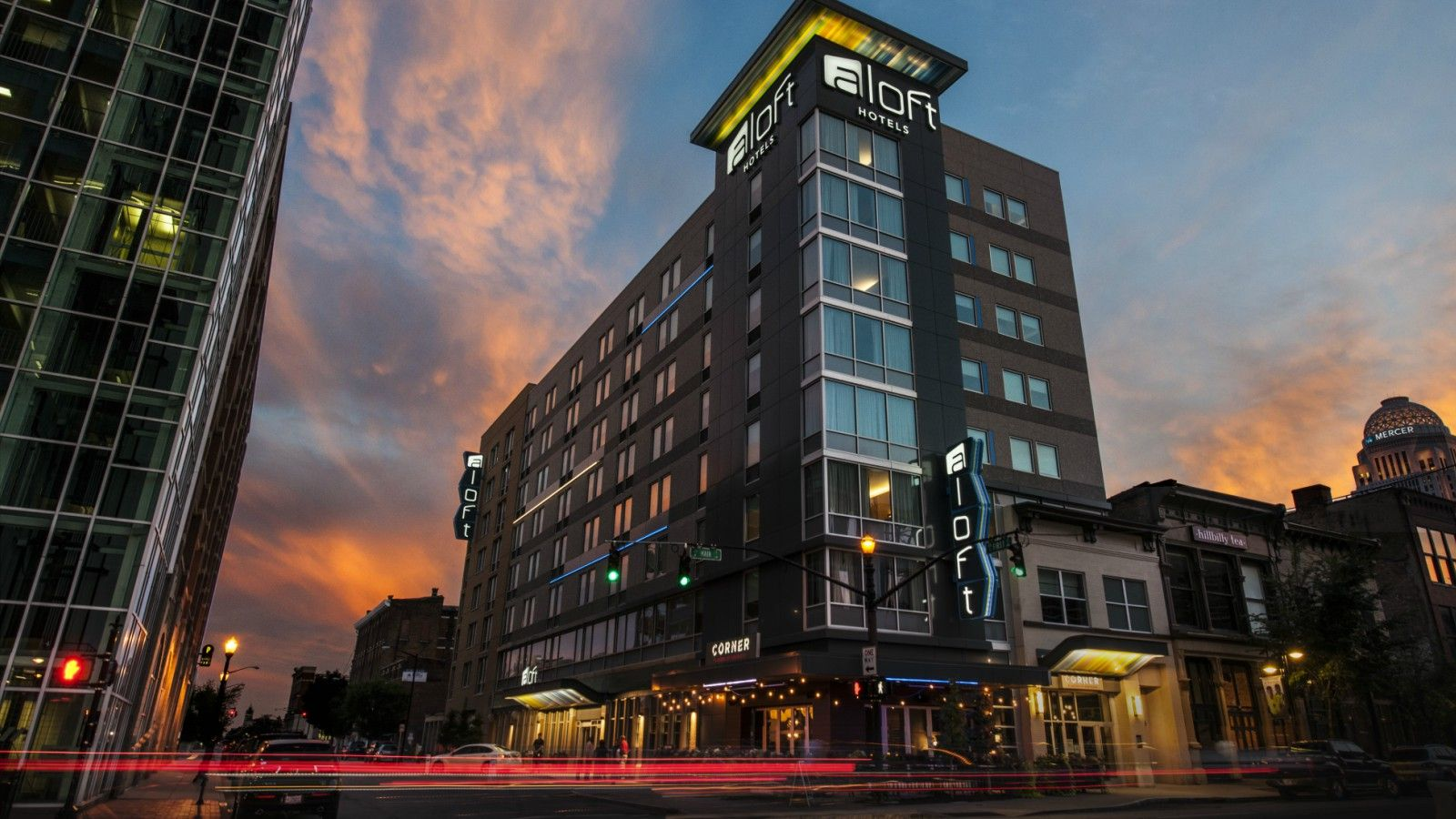 Things to do in Louisville, KY - Aloft Exterior